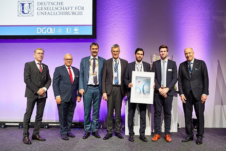 Preisverleihung des DGU Innovationspreises;